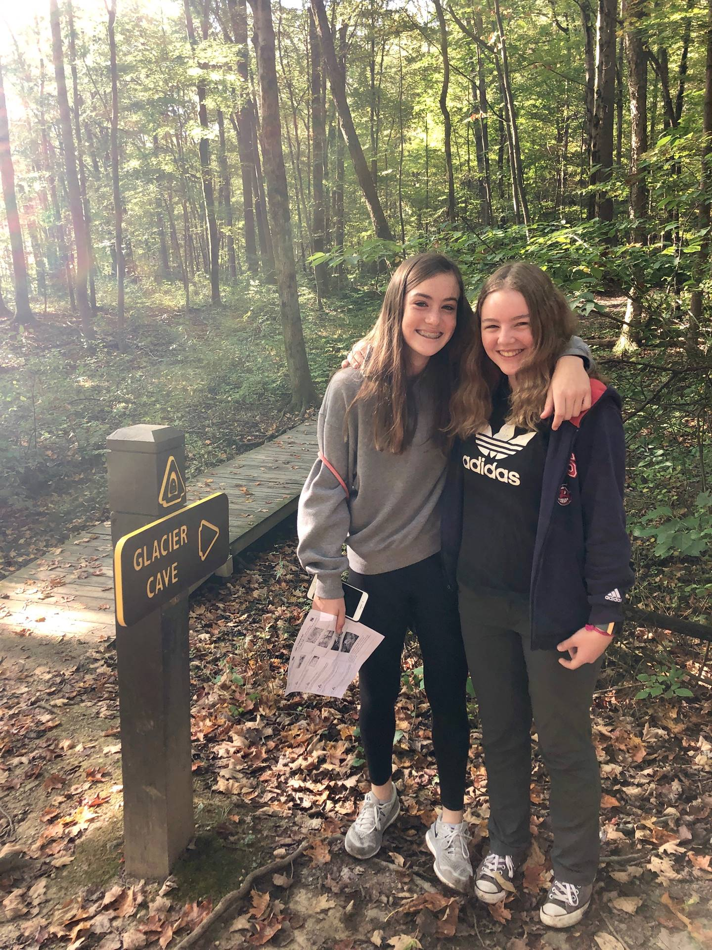 8th Grade Field Trip To Liberty Road Park