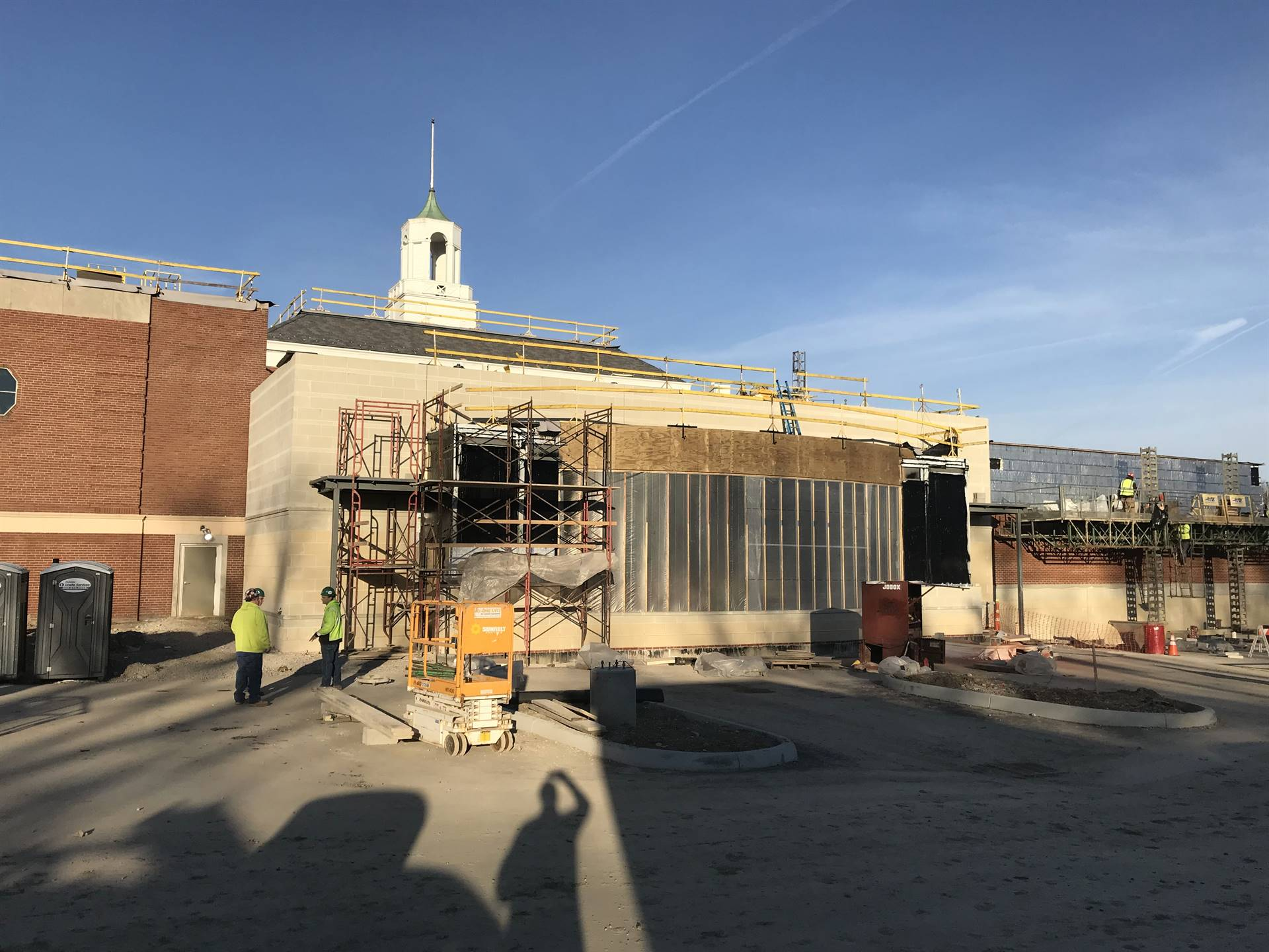 CFIS Construction - March 2019 - Construction Update Photo