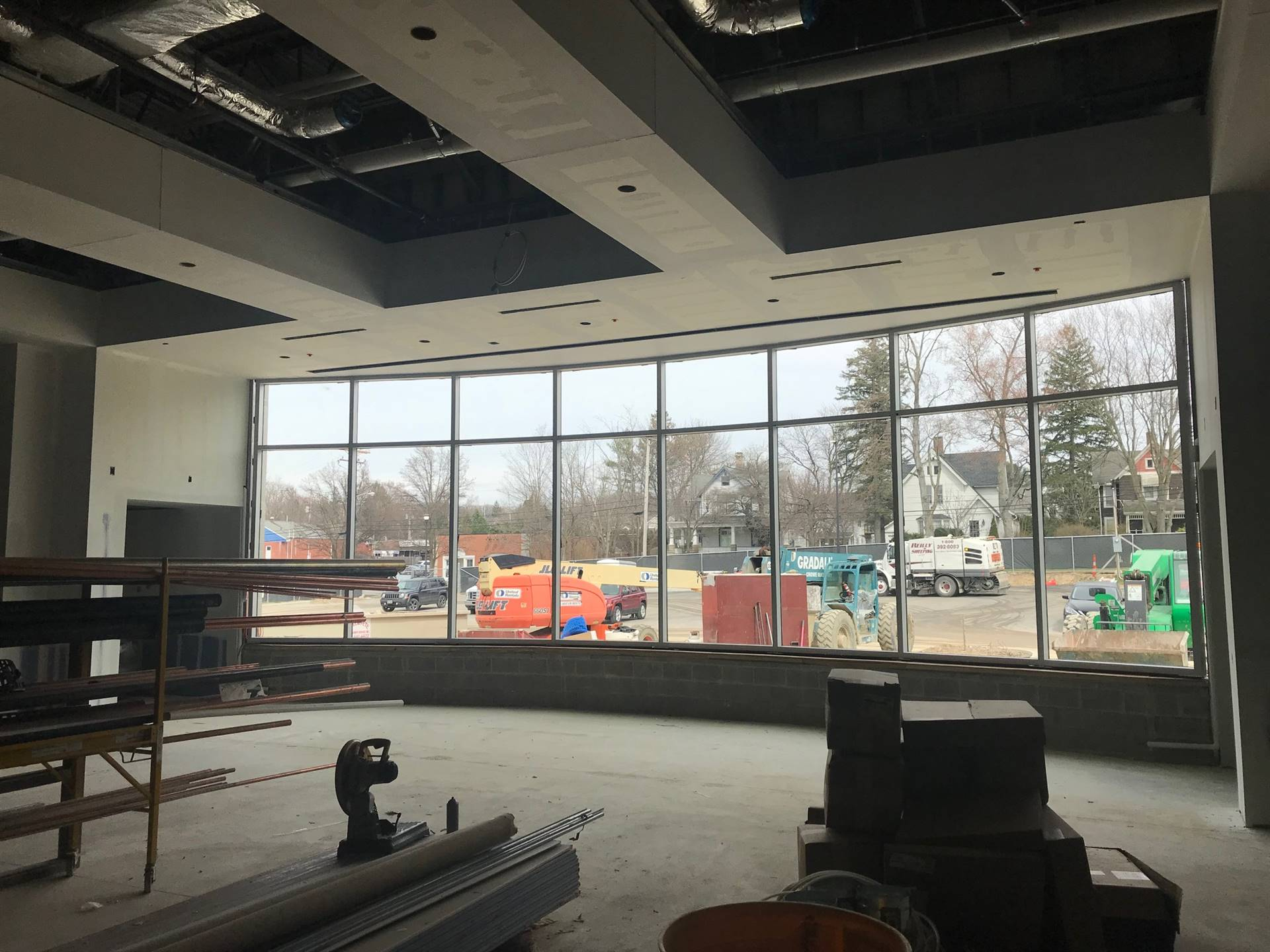 CFIS Photo - April - Construction Progress